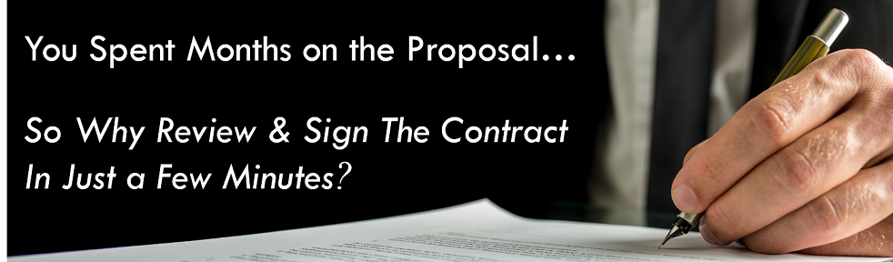 Contract Management - Government Contract Reviews