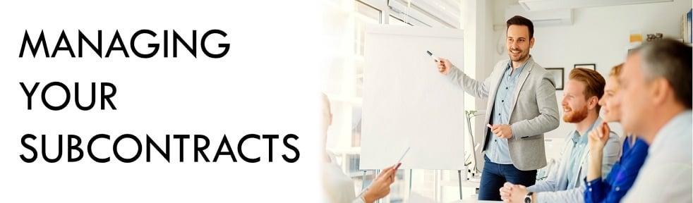 Government Subcontract Management - ReliAscent