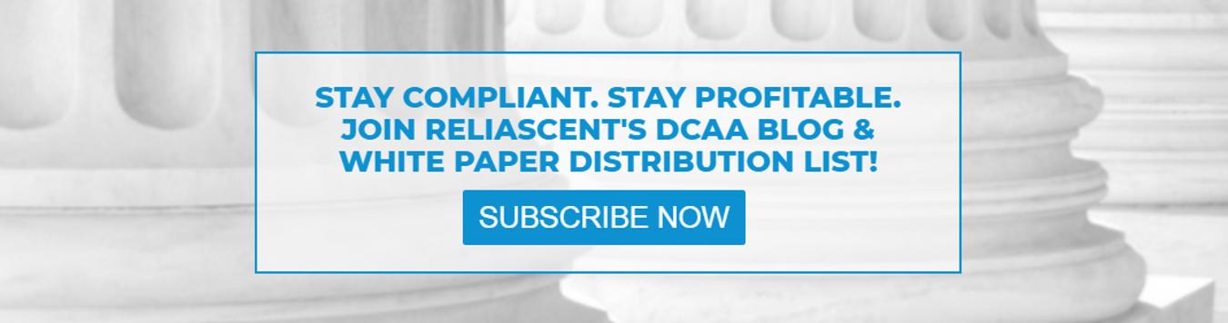 DCAA Compliance Blog