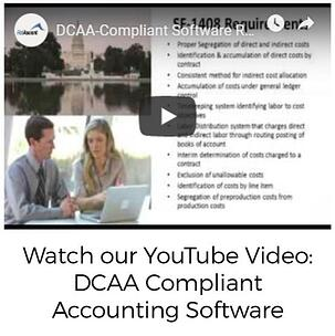DCAA Compliant Accounting Software