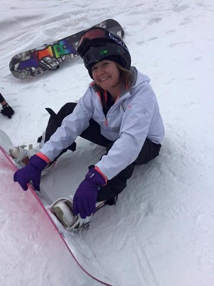 Bree Snowboarding