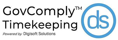 GovComply Timekeeping Logo - white background