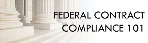 Government Contract Compliance 101