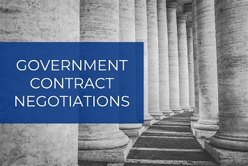 Government Contract Negotiation Techniques and Process