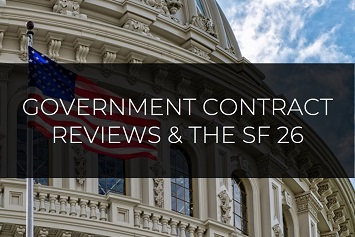 Government Contract Reviews and SF26