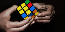 Indirect Rates Structure Rubik's Cube - Smaller