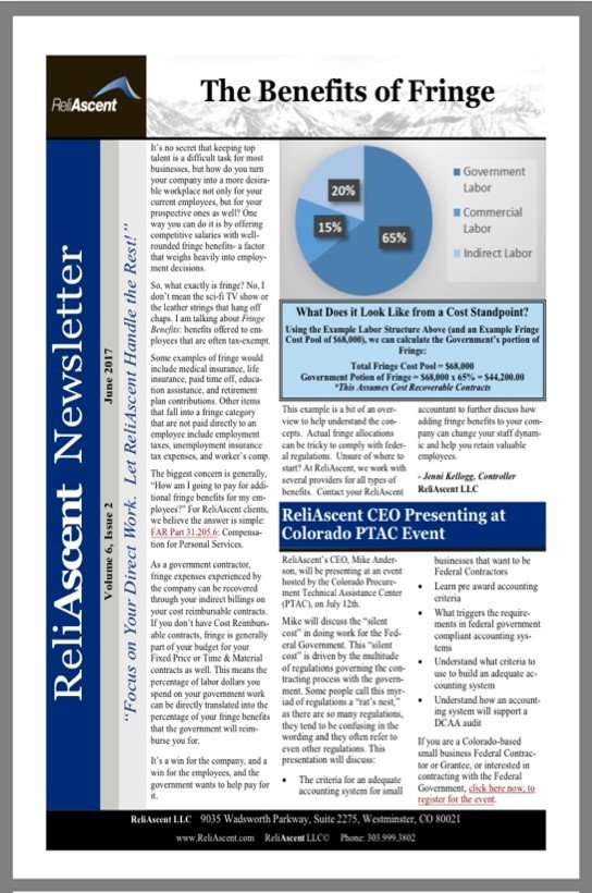 DCAA Newsletter - ReliAscent