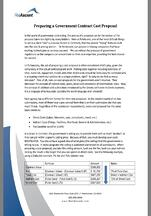 Cost Proposal White Paper