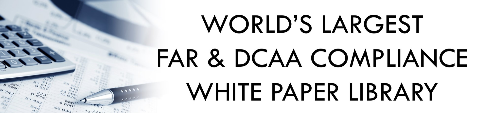 DCAA Audit Checklist and White Papers